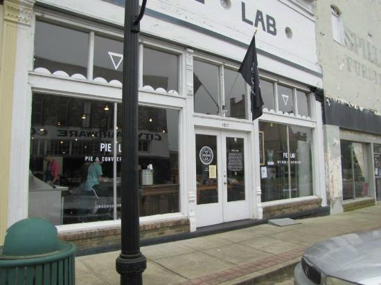 Pielab Greensboro Alabama PieLab: The Pie Lab on Main Street in Greensboro, Alabama