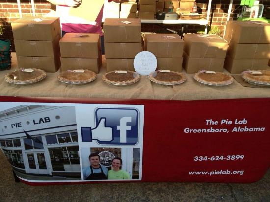 Greensboro, AL: Pie Lab at Pepper Place Market in Birmingham