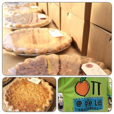 Greensboro, AL: Pie Lab at Pepper Place Market