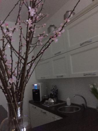 Rest Guesthouse: Angolo bar cucina e zona giorno molto curato