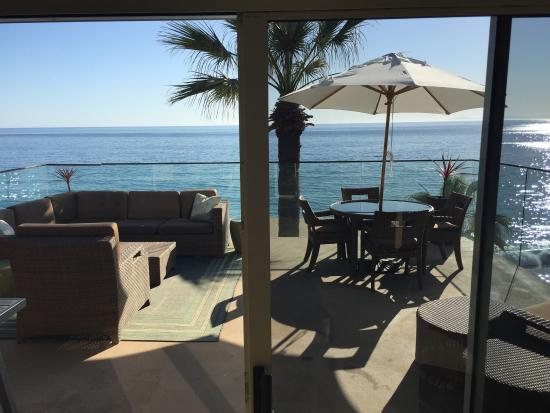 Surf & Sand Resort : View from suite