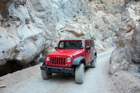 Driving through us Canyon. - Picture of Farabee's Jeep Rentals ...
