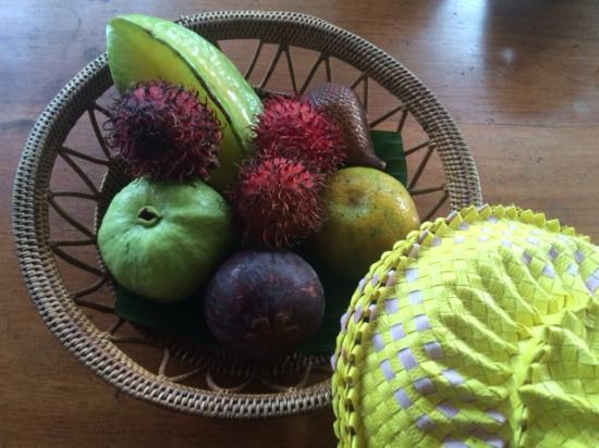 Alam Shanti: Welcome fruits