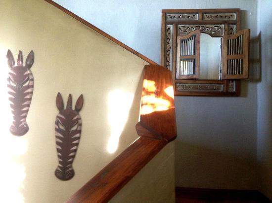 Beach Music: Staircase decor