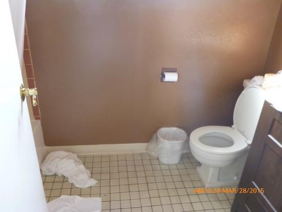 Hub Motel: Toilet