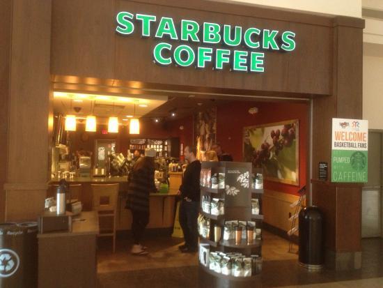 Syracuse, NY: Starbucks storefront in Destiny Center