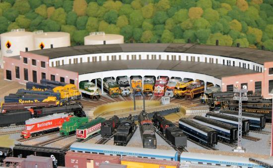 Miniature World of Trains: Train layout