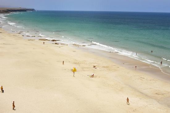 La Oliva, España: Beach