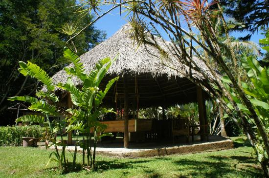 La Purruja Lodge: breakfast area
