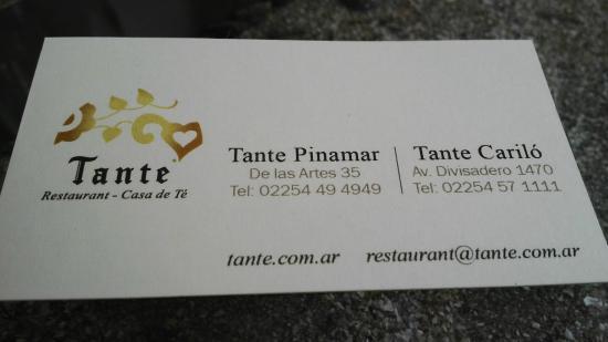 Tante Cariló: datos del lugar