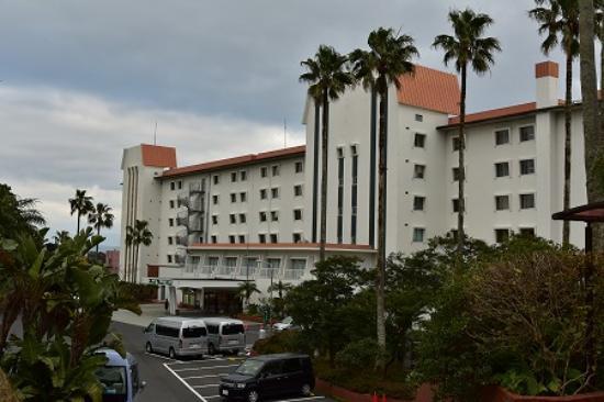 Ibusuki Phoenex Hotel : 裏側というか玄関のある側