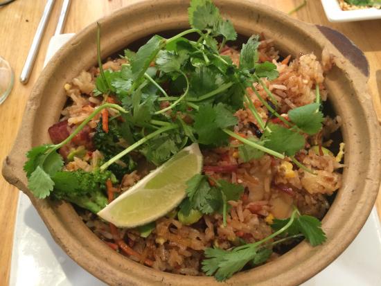 Sesame Asian Kitchen: ginger fried rice