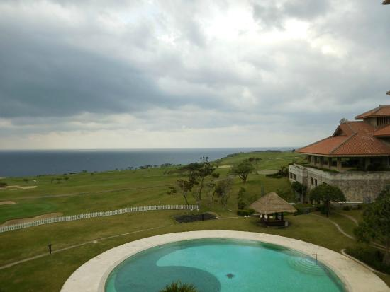 The Southern Links Resort Hotel: あいにくの曇り空