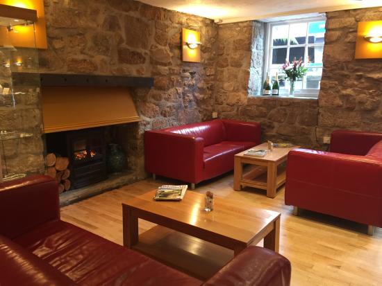 Alverne: Our lounge area.