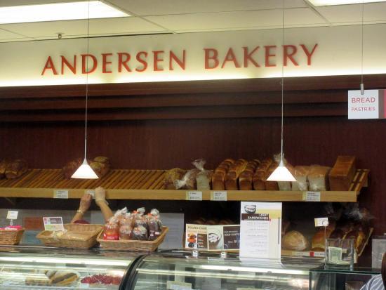 Andersen Bakery: Andersen's Bakery, Japantown, San Francisco, Ca