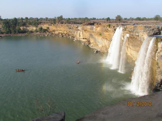 ... | Jagdalpur, India Picture of Chitrakot Waterfall, Jagdalpur