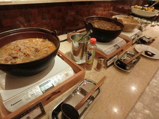 Asaya: 夕食バイキング