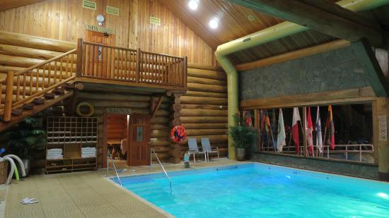 IDW Esperanza Resort: Small indoor pool with sauna