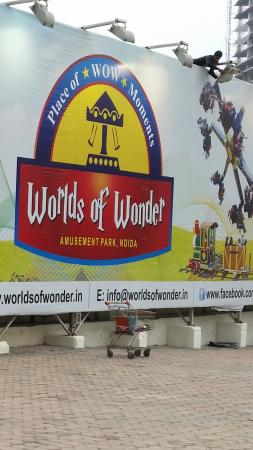 Noida, Hindistan: Worlds of Wonder Water Park