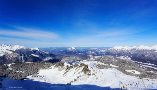 Hôtel Club mmv Le Flaine : Mountain views
