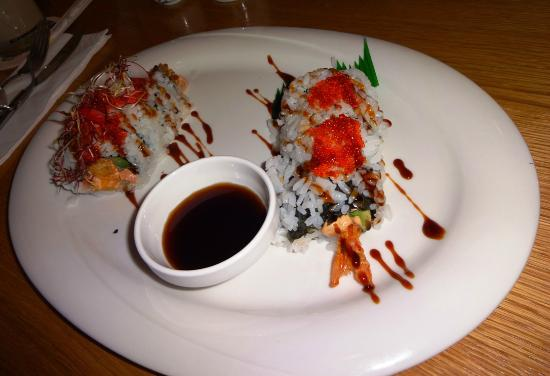 Bistro Lemongrass: Japan Night Sushi inside out Rogen