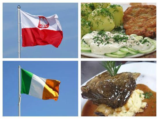 So Good Restaurant: Polish Schabowy (Breaded Fried Pork Chop) v Irish Slow Roast Beef on the Bone