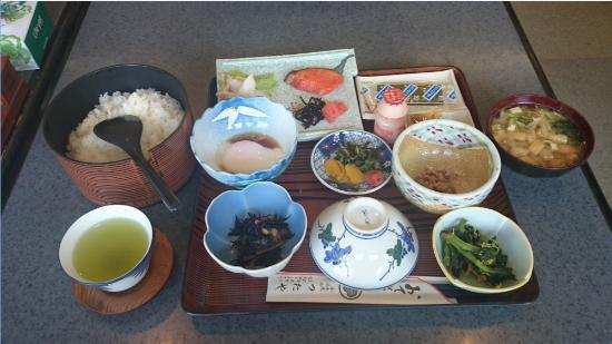 Hotel Tsutaya : 朝食の例