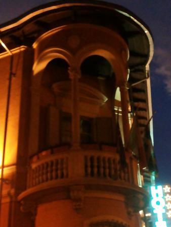 Hotel dei Pittori: il delizioso terrazzino della suite Filippo Casorati ...