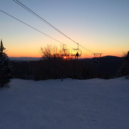 Bolton Valley, VT: Night skiing