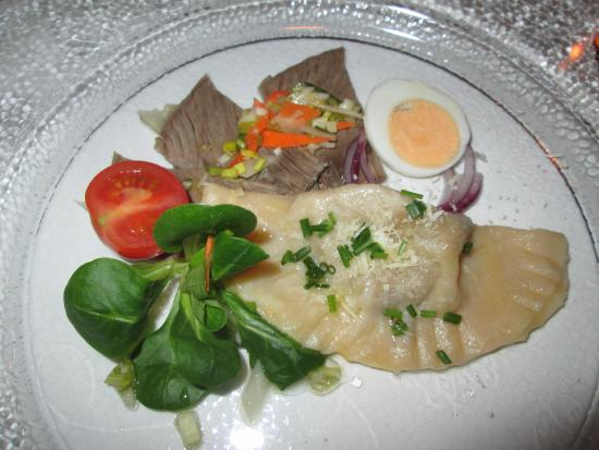 Hotel Bergwelt: A typical main course