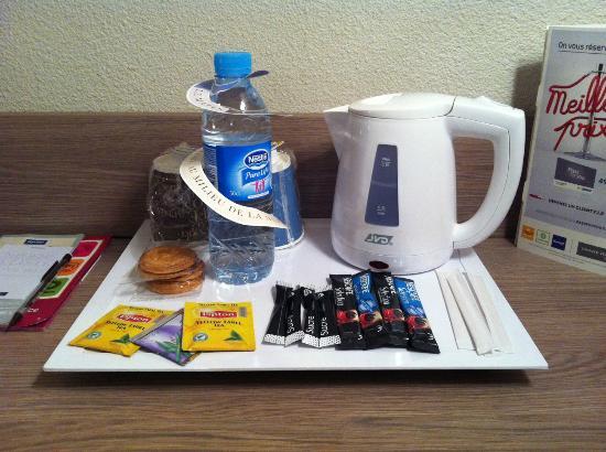 Kyriad Lyon Centre - Croix Rousse: Il kit per il caffè ed il thè