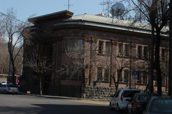 Museum of Folk Arts: Here is the building of the museum