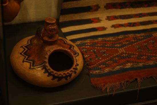 Museum of Folk Arts: Ceramic salt cellar