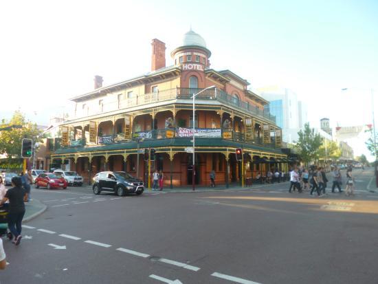Brass Monkey: A prime location in Central Perth