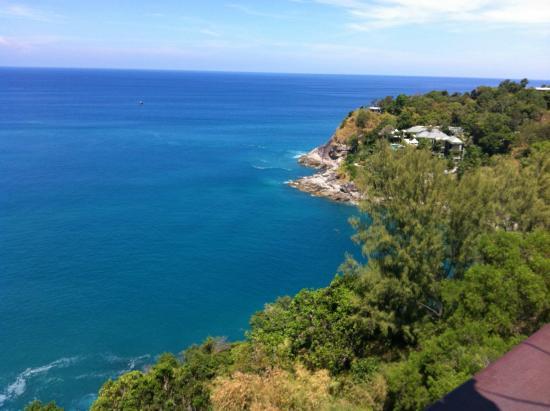 Paresa Resort Phuket : View from breakfast