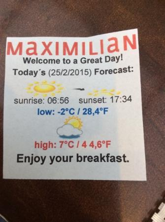 Maximilian Hotel: xxx