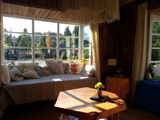Hostal La Gringa Carioca: Sala de estar do albergue
