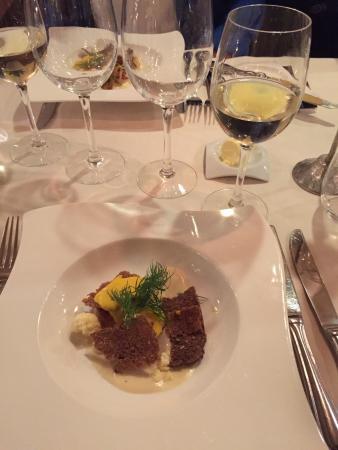 Restaurant Prinses Juliana.: Kammuslinger med tilbehør