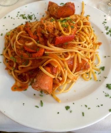 Ristorante La Villetta : Lobster pasta - my favourite!
