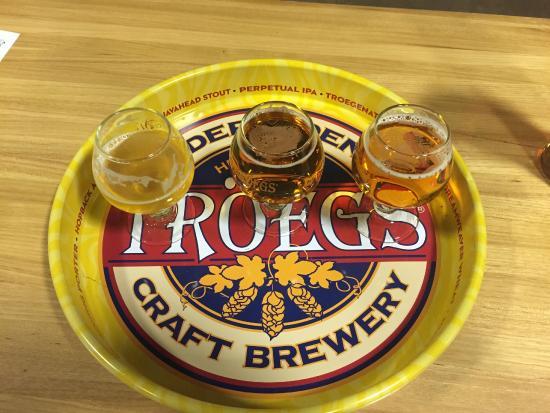 Troegs Brewing Company : Beer Sampler