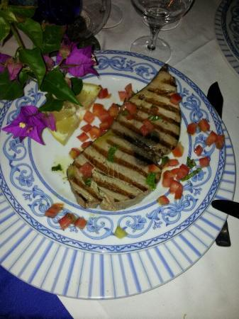 Ristorante Punta Lena: tonno rosso alla griglia