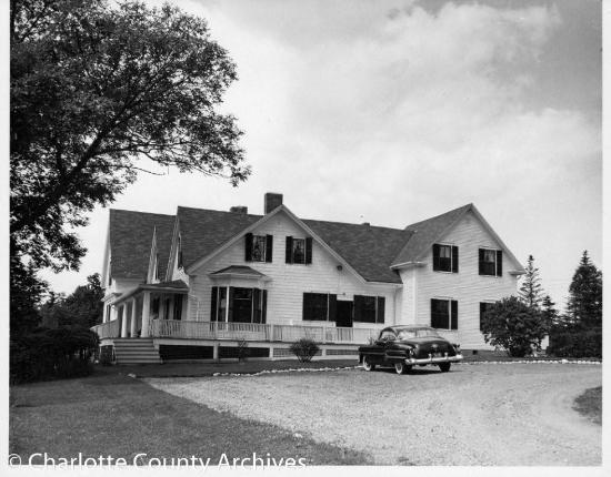Tara Manor Inn: Historic Photo - Tara Manor, formerly known as Risford