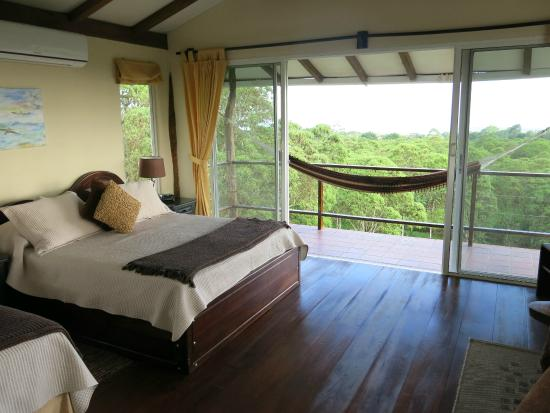 Semilla Verde Boutique Hotel: Room 1 on the upper level, panoramic forest and sea views