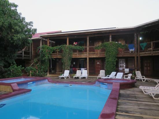 Mango Inn: Ungepflegter Poolbereich