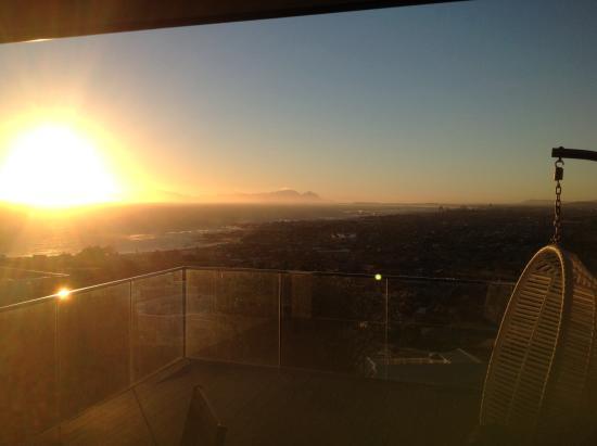 Gordon's Bay, Sudáfrica: View at sunset