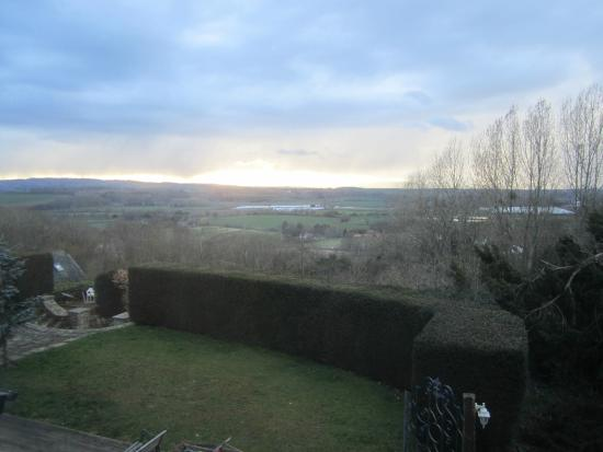 The Hill House: Our view from The North Suite :-)