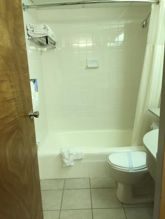 Quality Inn Downtown 4th Avenue: Bathroom