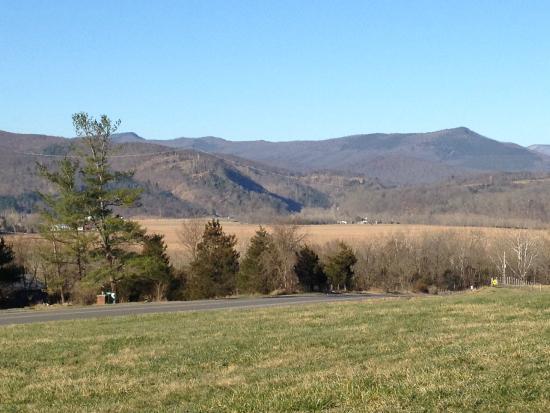 Great views outside of the Homestead Inn Motel