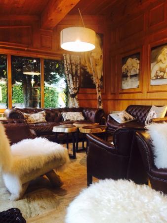 Hotel Neige Et Roc : Lounge area