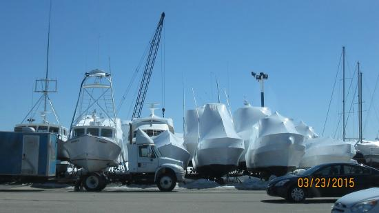 Cape Ann's Marina Resort: Wrapped for winter
